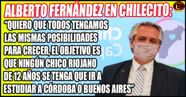El Presidente instó a Poner de Pie al Norte Argentino