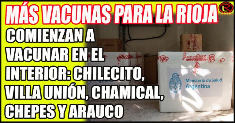 2700 vacunas contra la Covid llegarán a La Rioja para ser distribuidas en toda la provincia