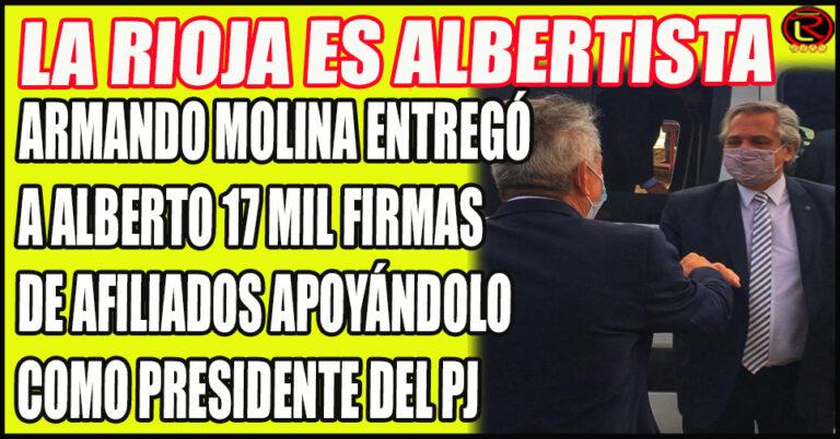 «Desde el Peronismo riojano proponemos a Alberto Fernández como Presidente del PJ»
