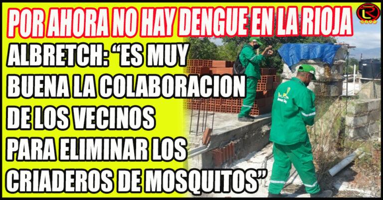 «No está la enfermedad en la Provincia, pero sí el mosquito transmisor, por eso es importante la prevención»