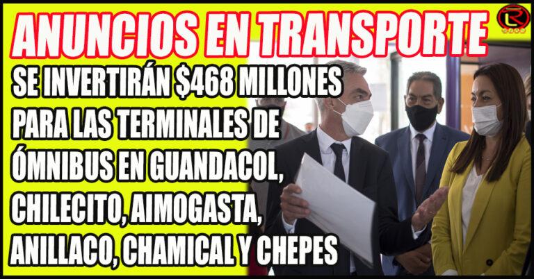 Además, Nación financiará el Programa Movilidad Integral no Motorizada para Capital y Chilecito