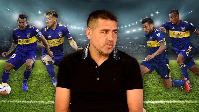 ¿Qué piensa Riquelme? Uno por uno, quién se queda y quién puede irse en Boca de cara a la Copa Libertadores