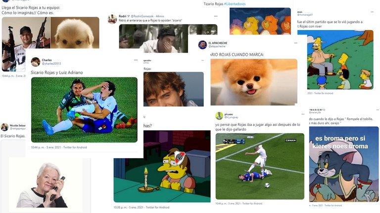 Infaltables!!! Estallaron los memes tras la goleada del Palmeiras a River: Robert Rojas, el principal apuntado