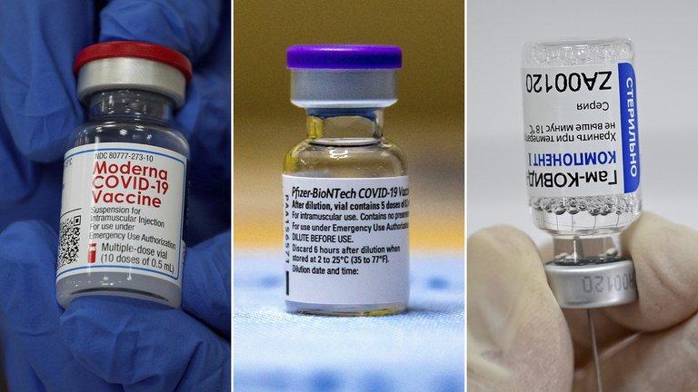 Un grupo de científicos argentinos comparó las vacunas de Pfizer, Moderna y Sputnik V