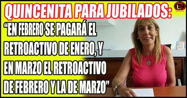 Sandra Vanni explicó que hubo un error en la carga de ANSES en Buenos Aires