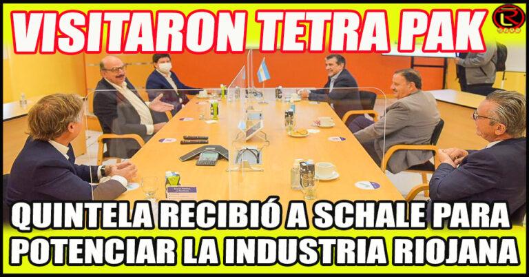 El Secretario de Industria de la Nación recorre el Parque Industrial