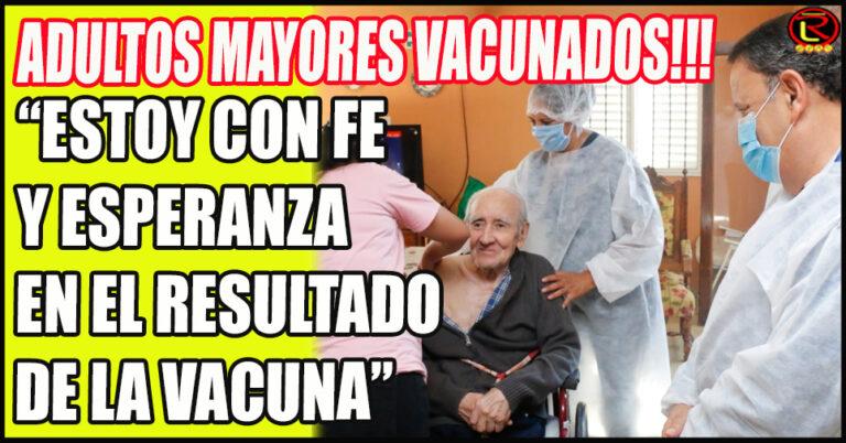 El Gobierno Provincial dio inicio a la vacunación a las y los adultos mayores de 70 años