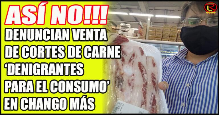La nueva Mega oferta de Chango más: GRASA con carne