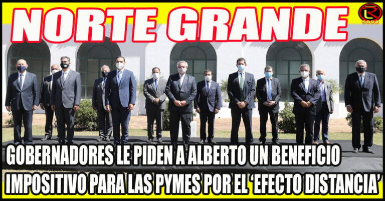 Quintela participó del Tercer Encuentro de Gobernadores del Norte Grande en Corrientes