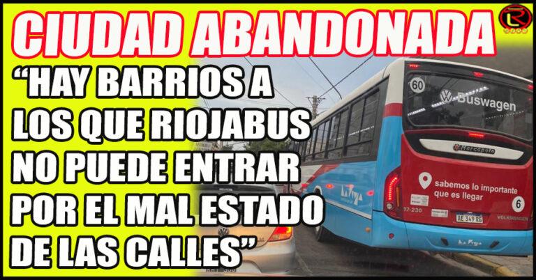 La Secretaria de Transporte explicó por qué el servicio no llega a algunos Barrios