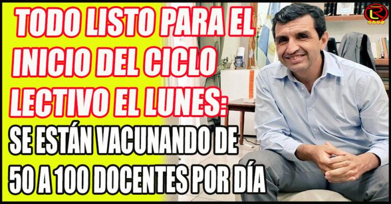 Ariel Martínez confirmó la visita de su par nacional Nicolás Trotta