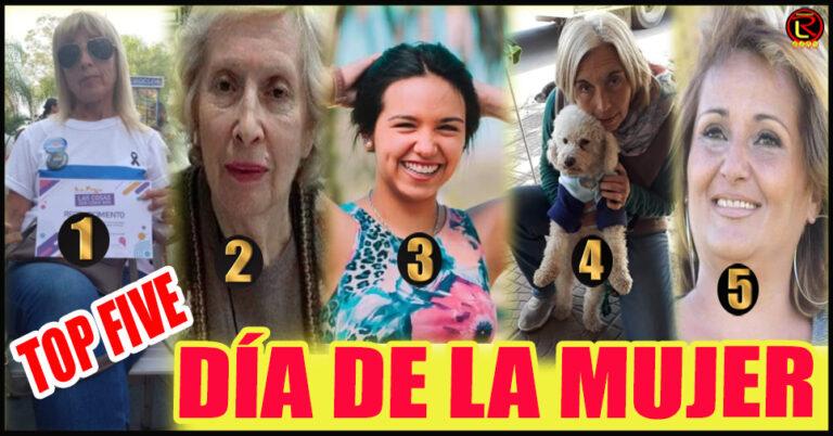 Mirta Collante, Irma Dueñas, Fernanda Russo, Silvia Meyer y Patricia Gazal