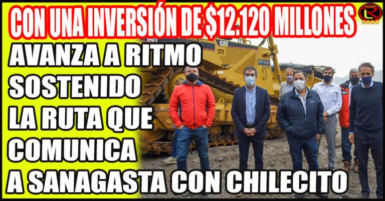 Quintela, Katopodis y Rodrigo recorrieron la Ruta Nacional 73
