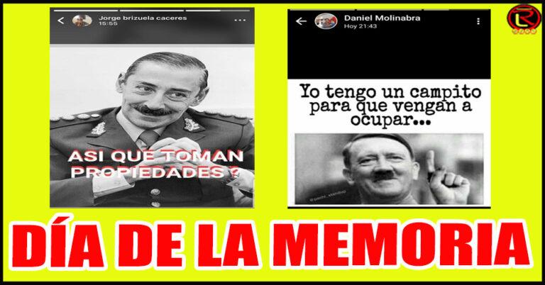Prohibido Olvidar: Inés Brizuela y Doria tiene en su Gabinete a dos funcionarios que hicieron apología de la Dictadura