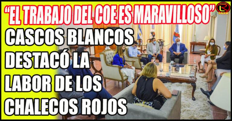 La Presidenta de Cascos Blancos resaltó el trabajo que se hace en La Rioja