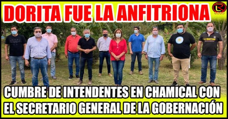 Dora Rodríguez recibió a 10 Jefes Comunales y a Armando Molina