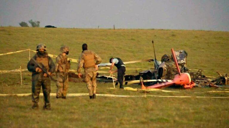 Uruguay: cayó un helicóptero que trasladaba vacunas y se perdieron todas las dosis