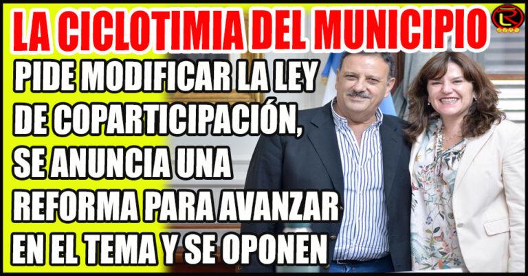 Quintela aseguró que la Coparticipación será uno de los Ejes de la Reforma Constitucional
