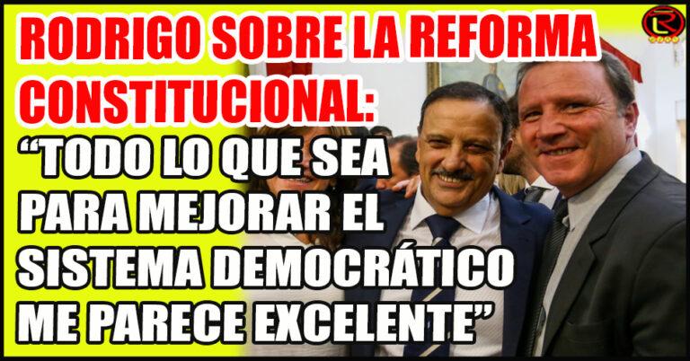 El Intendente de Chilecito respaldó la iniciativa del Gobernador