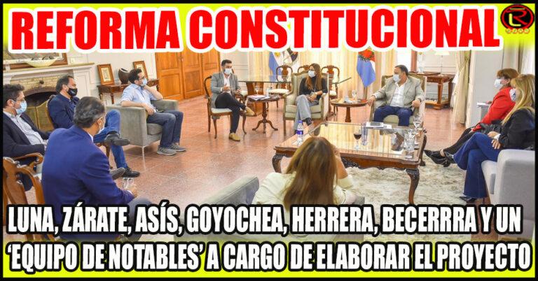 Se integrarán Docentes universitarios, abogados constitucionalistas, Consejos y Colegios Profesionales