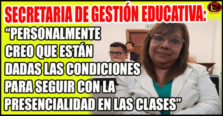 Zoraida Rodríguez aclaró que «la decisión se tomará luego de una Reunión de Gabinete»