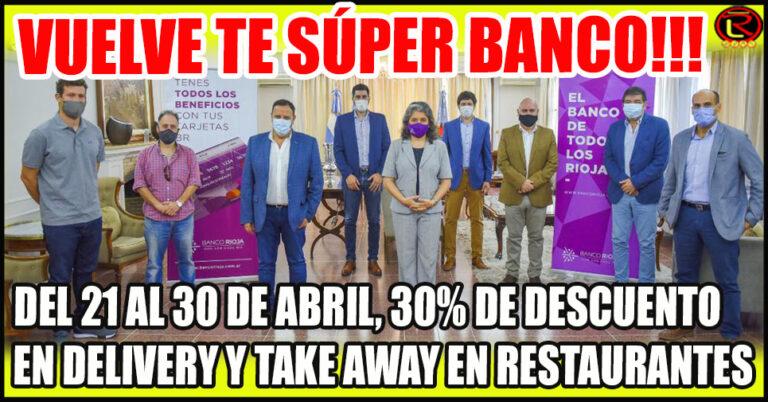 Relanzan Te súper banco bares y restaurantes en apoyo al sector gastronómico