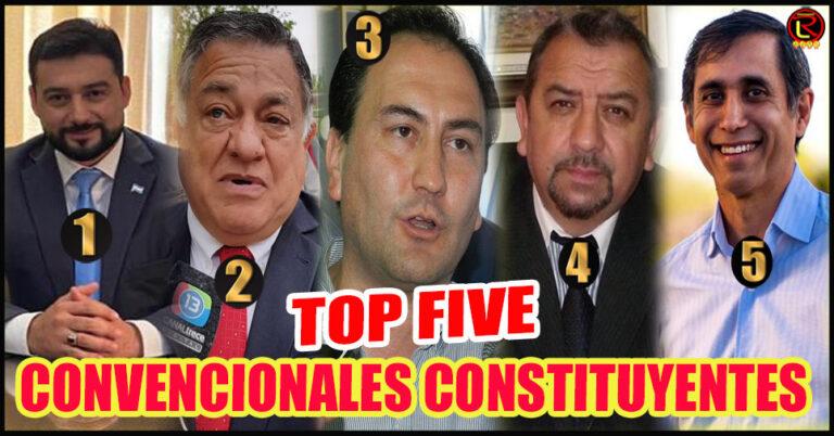 Miguel Zárate, Oscar Chamía, Renzo Castro, Dito Rodríguez y Paredes Urquiza