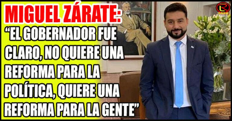 """""""La reforma se va a dar con la legitimidad del Pueblo»"""