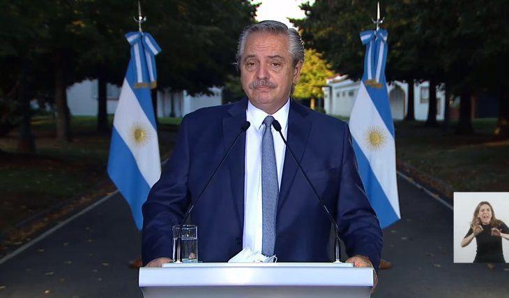 Alberto Fernández: «No me importa ganar una elección, me importa que los argentinos no se mueran»