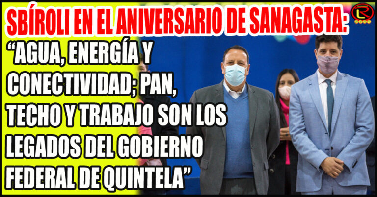 Con una batería de anuncios se celebro el 430° aniversario de Sanagasta