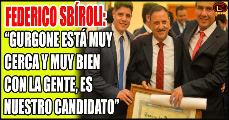 El Intendente de Sanagasta oficializó su apoyo al Diputado Hernán Gurgone