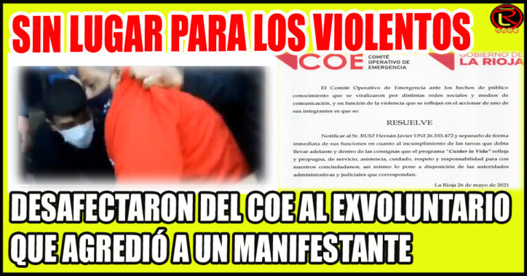 Hernán Javier Ruiz quedó a dispocisión de la Justicia