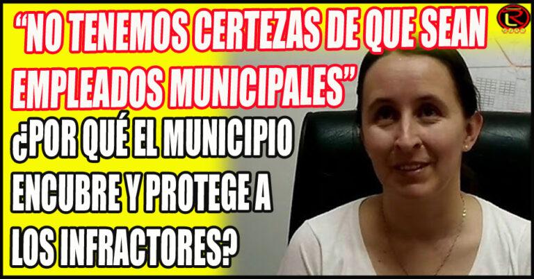 El Municipio minimiza la inconducta de sus funcionarios
