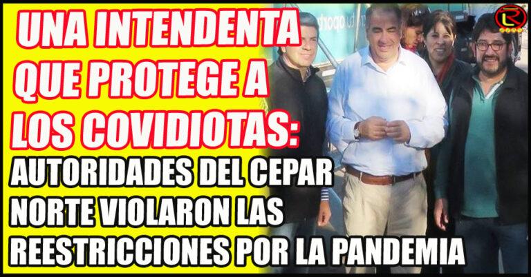 Daniel Vilte, Yésica Aguilar, Victor Sánzhez, Adrían Aráoz y Luis González