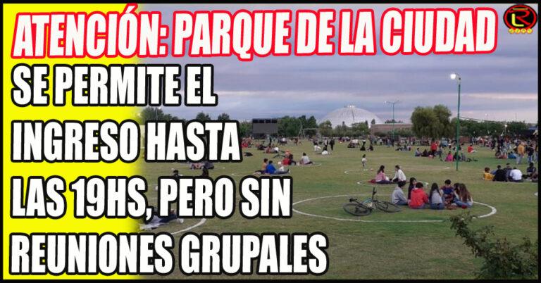 """Lito Asis: """"Se acabaron las reuniones grupales en el Parque de la Ciudad"""""""