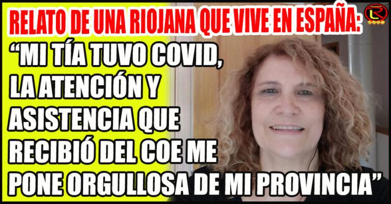 «Acá en Madrid no hay ni la cuarta parte de atención que hay allá en La Rioja»