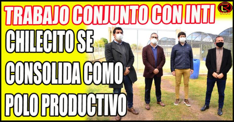 Rodrigo ByD recibió a Fernando Rejal, Federico Bazán y al Presidente del INTI