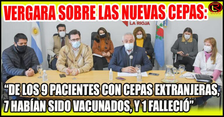 El Ministerio de Salud brindó detalles de las nuevas cepas de Coronavirus en La Rioja