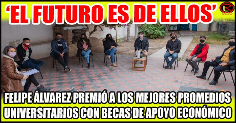 Agustina Oliva, Oscar Pastrana, Jazmín Saldis Romero, Alexis Barrionuevo y Alejandro Ortíz