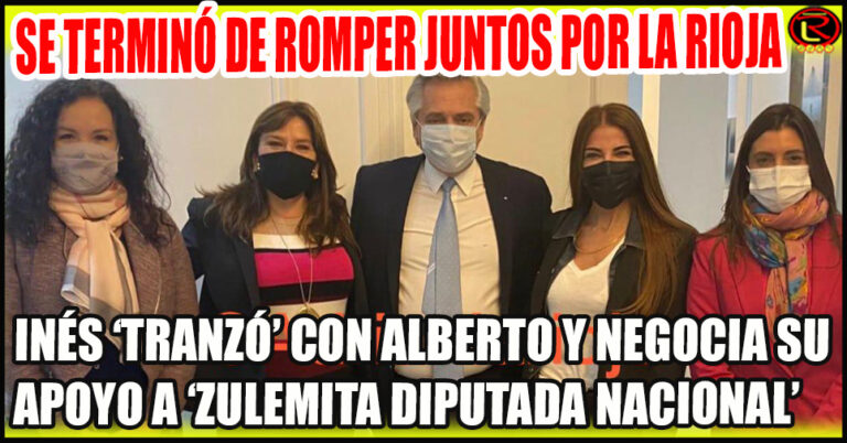 Inés Bizuela y Doria, de Senadora anti K a Intendenta K y Menemista