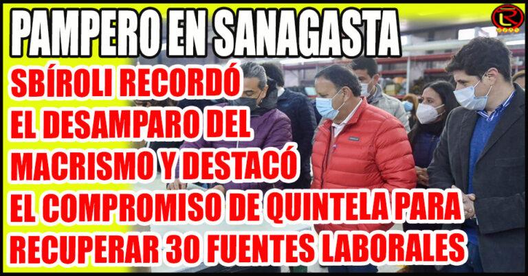 «Es un día histórico para Sanagasta, saber que los 27 empleados de la cooperativa están trabajando dignamente»