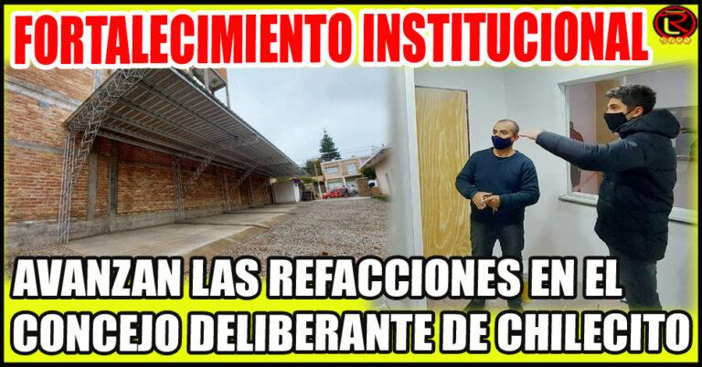 Cochera nueva y remodelación en Archivo y Rincón Solidario