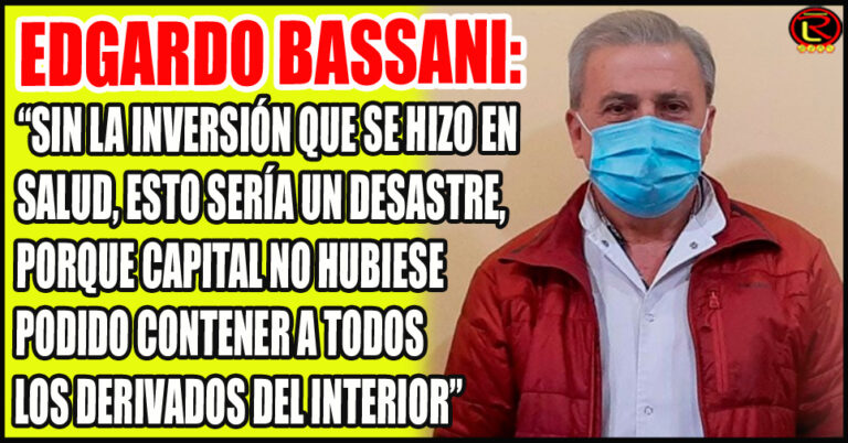 El Director del Hospital de Chilecito destacó la decisión política del Gobernador para federalizar la Salud