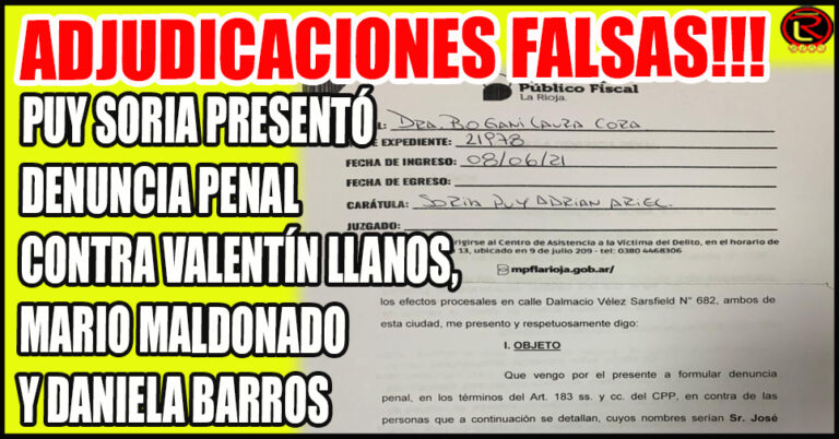 10 familias perjudicadas en 180 mil pesos cada una