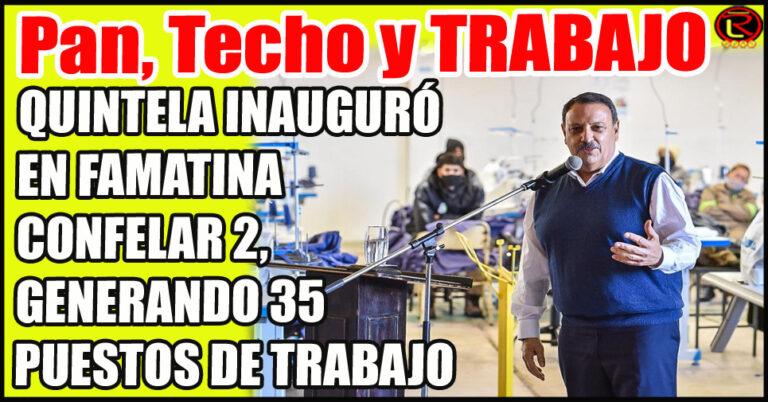 «El peronismo protege la industria nacional»