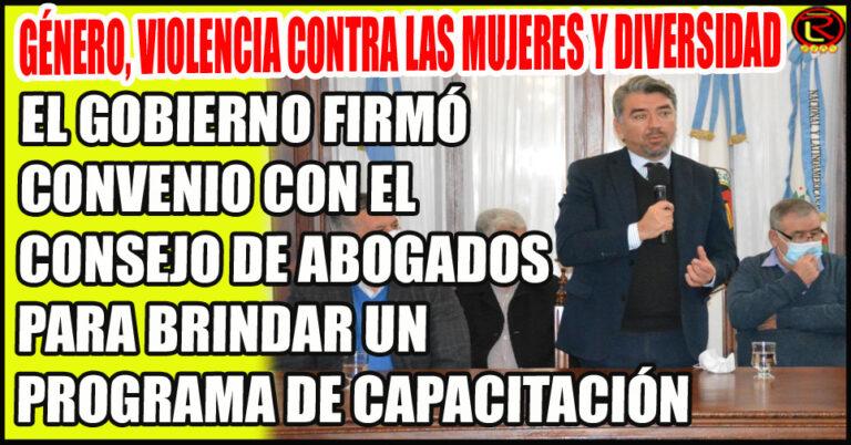Asís, Luna y Rodríguez rubricaron el Convenio