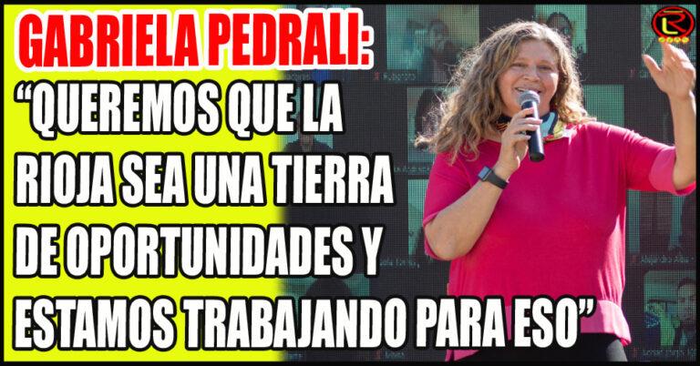 La candidata del PJ plantó al Federalismo como bandera