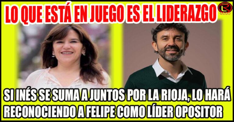 Felipe golpeó primero y logró apoyo en Nación para liderar Juntos por La Rioja