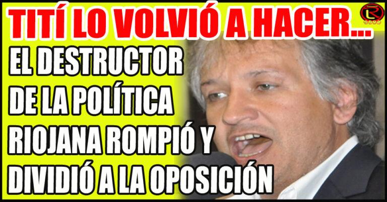 La mejor decisión política del Quintelismo fue empujar a Bosetti a la oposición