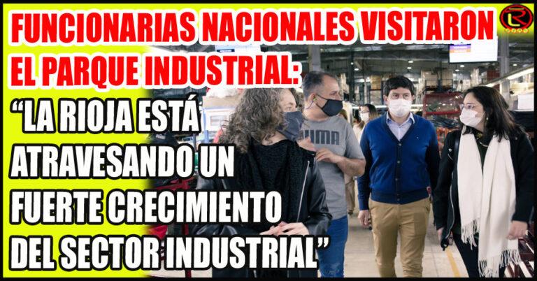 Visitaron fábricas textiles y de calzado y elogiaron la 'reactivación industrial' en La Rioja